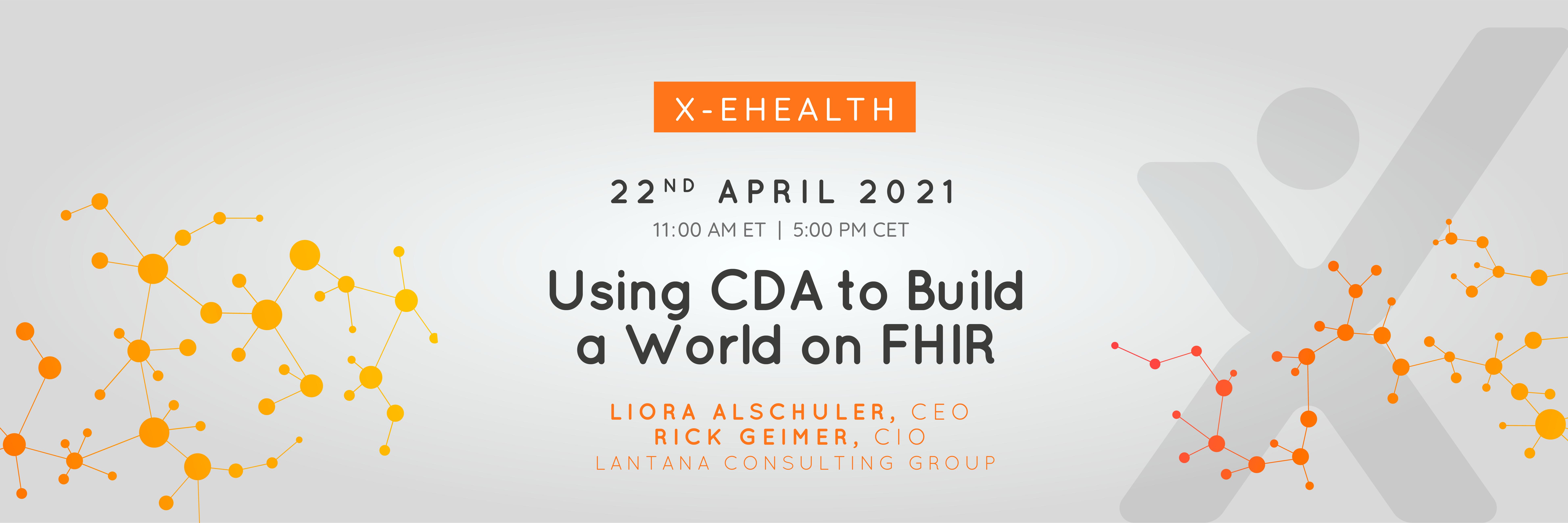 Using CDA do Build a World on FHIR new